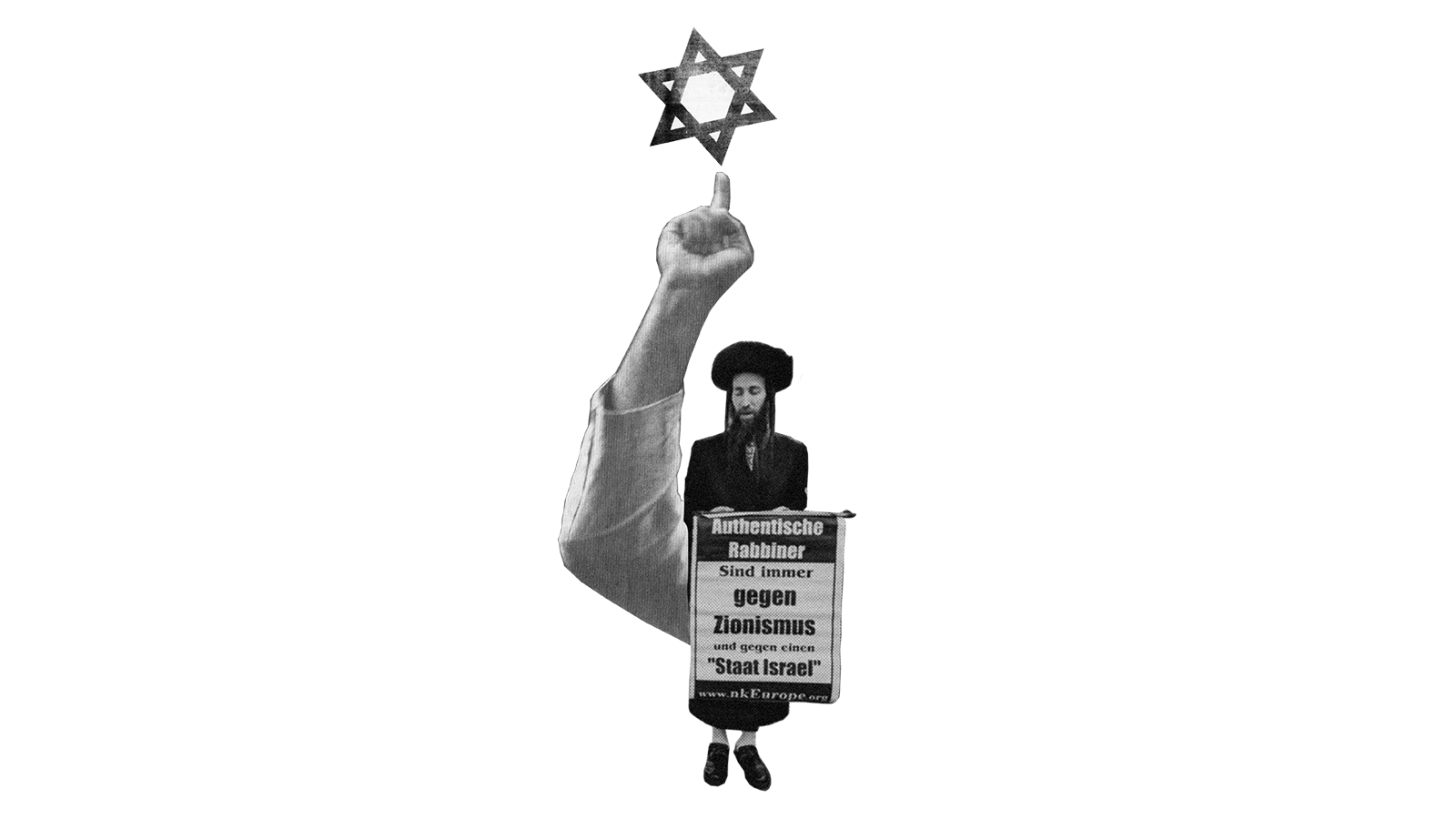 """""""Die wahren Juden sind gegen Zionismus."""""""